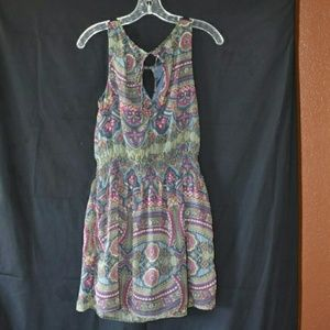O'Neill floral kaleidoscope print dress, medium